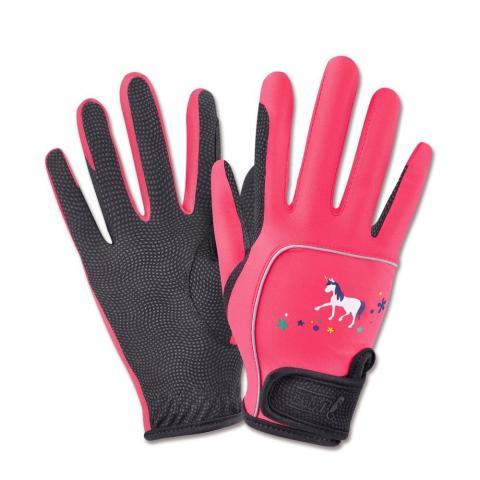 Rękawiczki Metropolitan malinowo-czarne