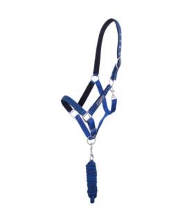 Kantar z uwiązem QHP niebieski
