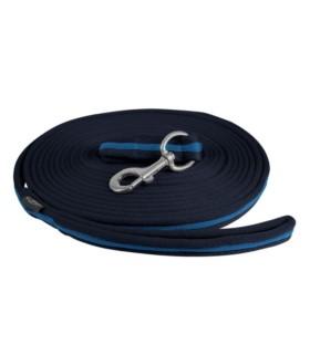 Lonża QHP Graphic czarno-niebieska