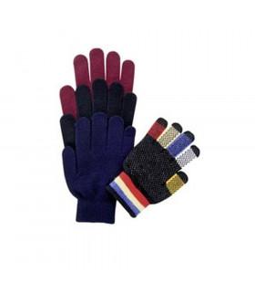 Rękawiczki Magic dorośli bordowe