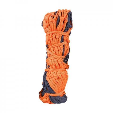 Siatka na siano QHP średnie oczka 5cm Camouflage pomarańczowo-szara