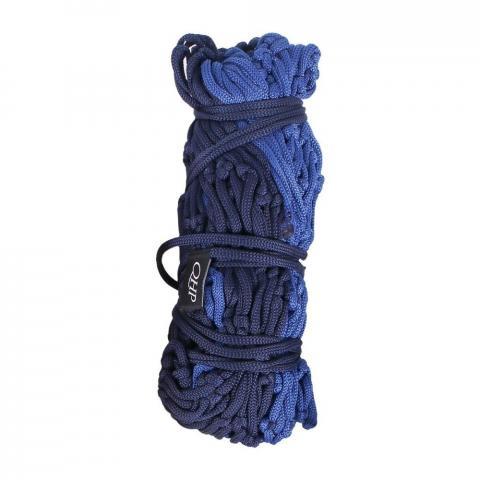 Siatka na siano QHP średnie oczka 5cm Graphic granatowo-niebieska