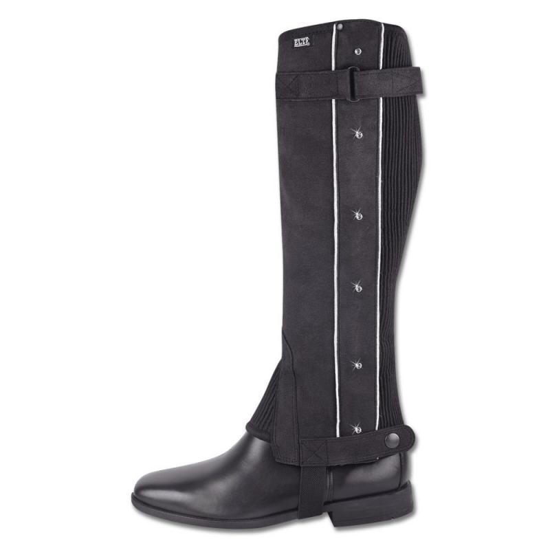 Czapsy Elastic Glamour czarne