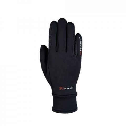 Rękawiczki zimowe Roeckl Warwick jersey czarne