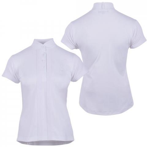 Bluzka konkursowa QHP Felien biała
