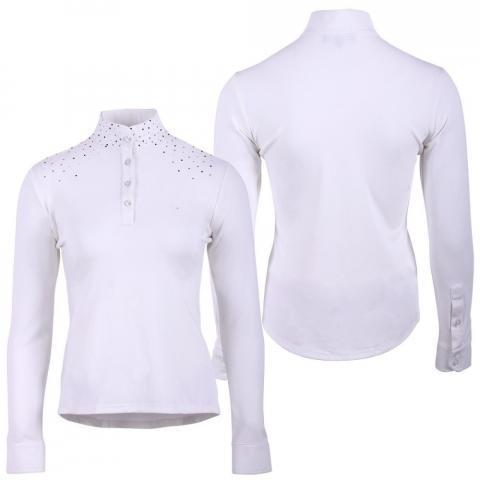 Bluzka konkursowa QHP Emilee biała