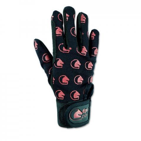Rękawiczki zimowe FP Maya czarno-czerwone