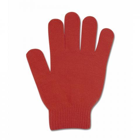 Rękawiczki Magic z konikiem dziecięce czerwone