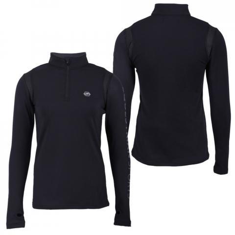 Bluzka funkcyjna QHP Fianne czarna