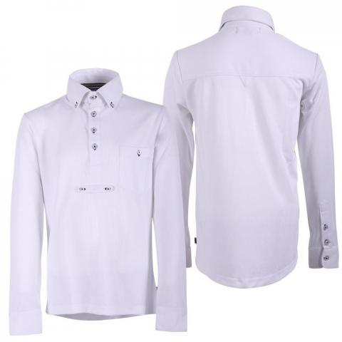 Bluzka konkursowa QHP Roan męska biała