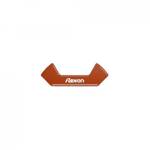 Wkładki magnetyczne do strzemion bezpiecznych Flex-on Safe On brązowe
