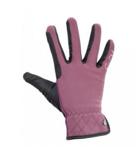 Rękawiczki HKM Velluto bordowe