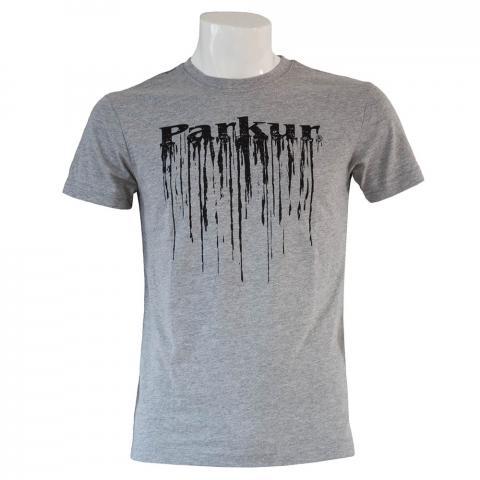 Koszulka męska Parkur Pegaz szara