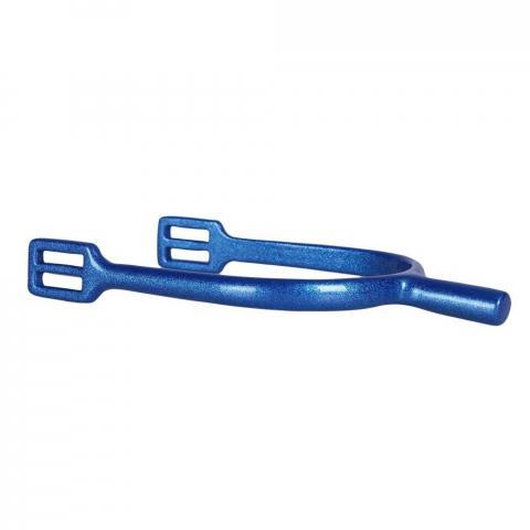 Ostrogi damskie QHP Metallic proste niebieskie