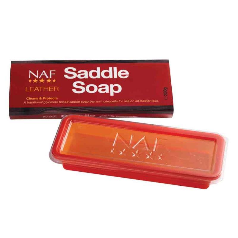 Mydło do skóry NAF Saddle Soap kostka