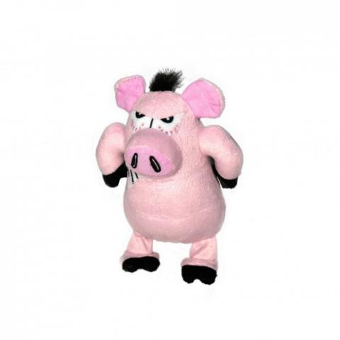 Zabawka pluszowa dla psa Hunter świnka różowa