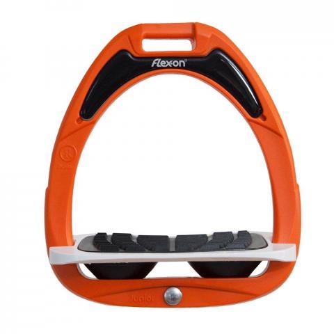 Strzemiona Flex-on Junior pomarańczowo-biało-czarne