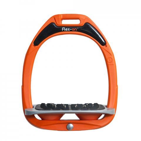 Strzemiona Flex-On Green Composite z kolcami dorośli pomarańczowo-szaro-pomarańczowe