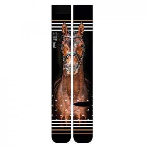 Skarpety Busse Print Stapp® Horse gniady