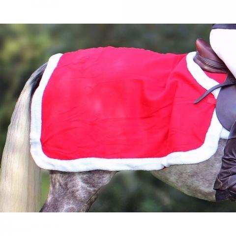 Derka QHP czerwona świąteczna