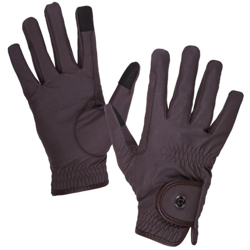 Rękawiczki QHP Force brązowe
