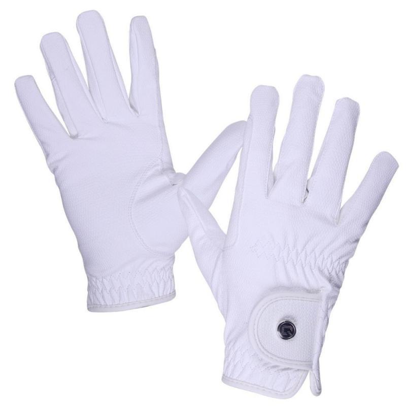 Rękawiczki QHP Force Białe