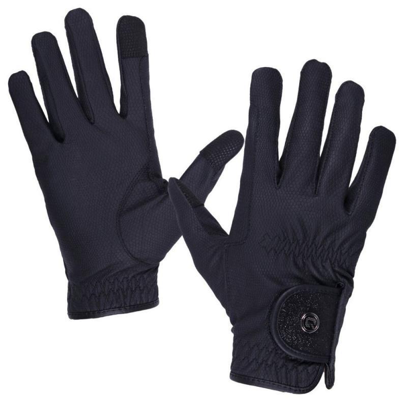 Rękawiczki QHP Glitz czarny