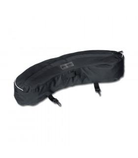 Sakwa na płaszcz czarna