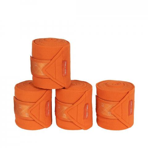 Bandaże polarowe Eskadron Platinum Vermillion orange, pomarańczowe 2019