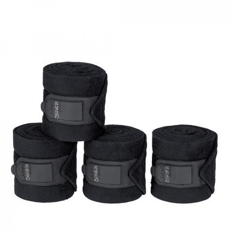 Bandaże polarowe Eskadron Caviar, czarne Classic Sports 2019/2020