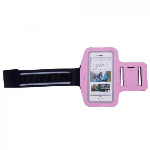 Etui na telefon QHP na ramię różowe