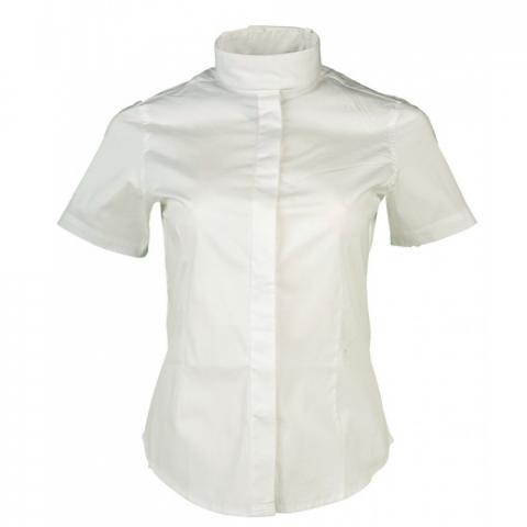Bluzka konkursowa HKM Elastic biała