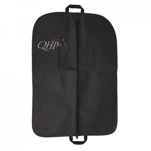 Torba na ubranie QHP poliestrowa czarna
