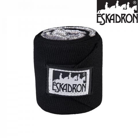 Bandaże elastyczne Eskadron Standard Climatex black, czarne