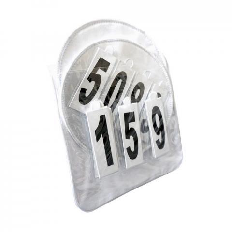 Numery startowe Kavalkade Lia białe