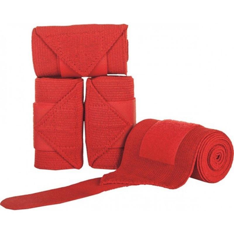 Bandaże elastyczne HKM czerwone