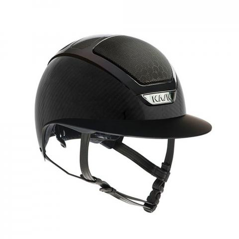 Kask KASK Star Lady Black Carbon Shinine, czarny