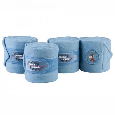 Bandaże polarowe Eskadron Nici mid blue, niebieskie 2016