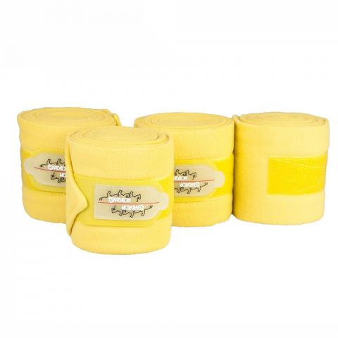 Bandaże polarowe Eskadron CS lime, żółte AW2016