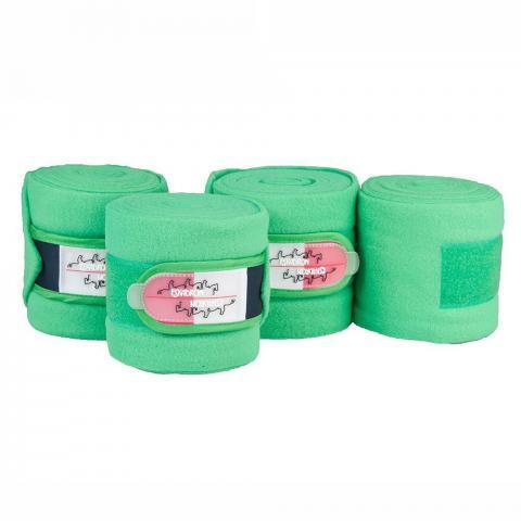 Bandaże polarowe Eskadron Limited Edition Leaf green, zielone SS2016