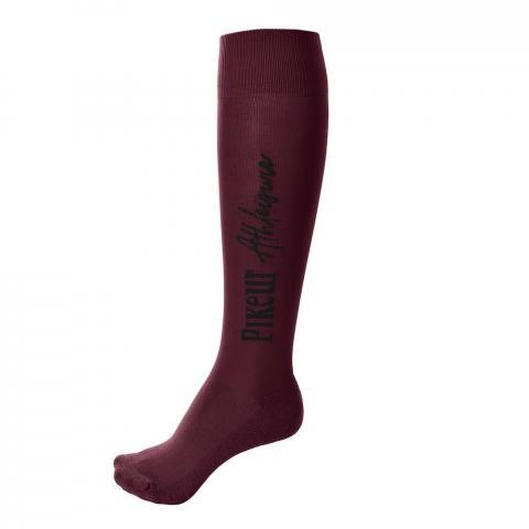 Skarpety zimowe Pikeur Knee Socks Athleisure bordeaux 2019