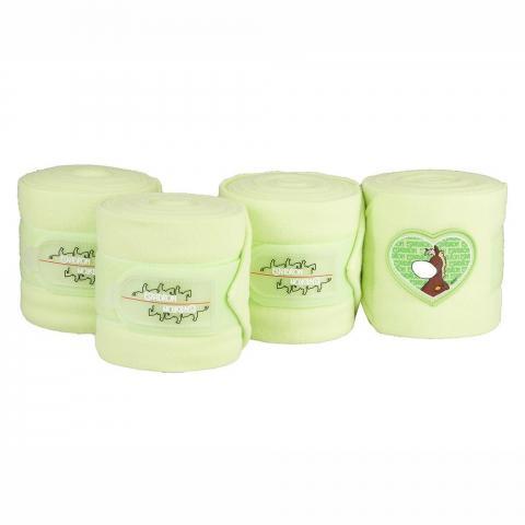 Bandaże polarowe Eskadron Nici heart green, seledynowe 2015
