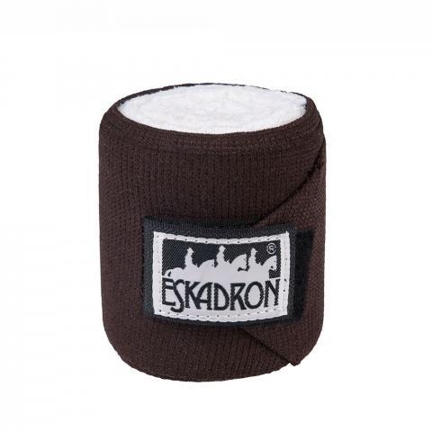 Bandaże elastyczne Eskadron Basic Climatex choco, brązowe