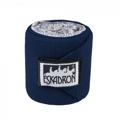 Bandaże elastyczne Eskadron Basic Climatex navy, granatowe