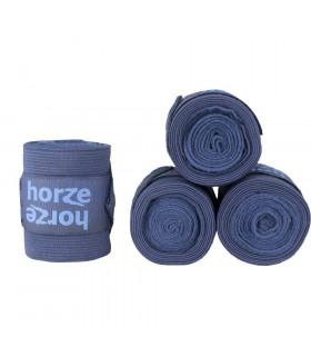 Bandaże polarowo-elastyczne Horze Nest granatowe