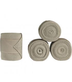 Bandaże polarowo-elastyczne Horze Nest szare