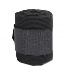 Bandaże polarowo-elastyczne czarne 4szt.