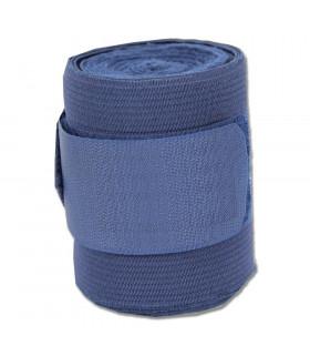 Bandaże polarowo-elastyczne granatowe 4szt.