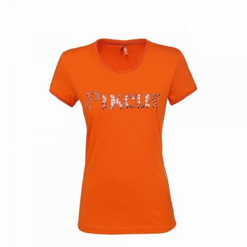 Koszulka damska Pikeur Linnea pomarańczowa 2019
