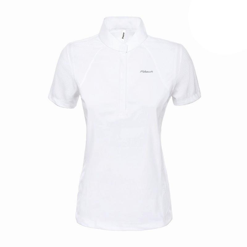 Koszulka konkursowa damska Pikeur Anija biała 2019